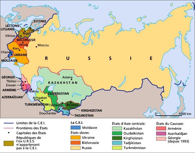 RUSSIE 1011337-La_CEI_Communauté_dÉtats_indépendants