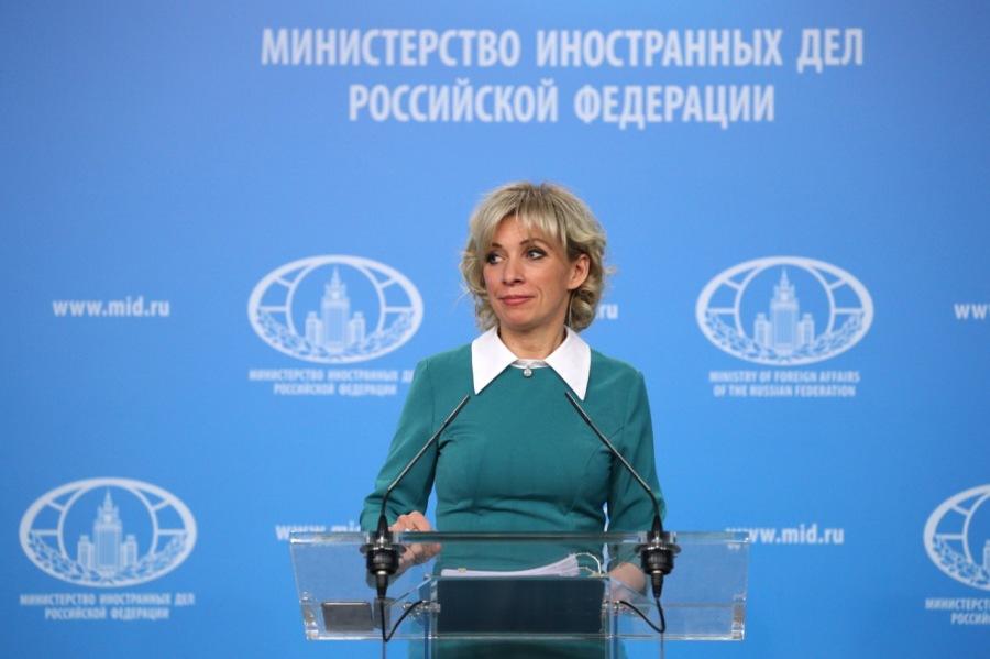 RUSSIE MARIA ZAKHAROVA 22-02-2019