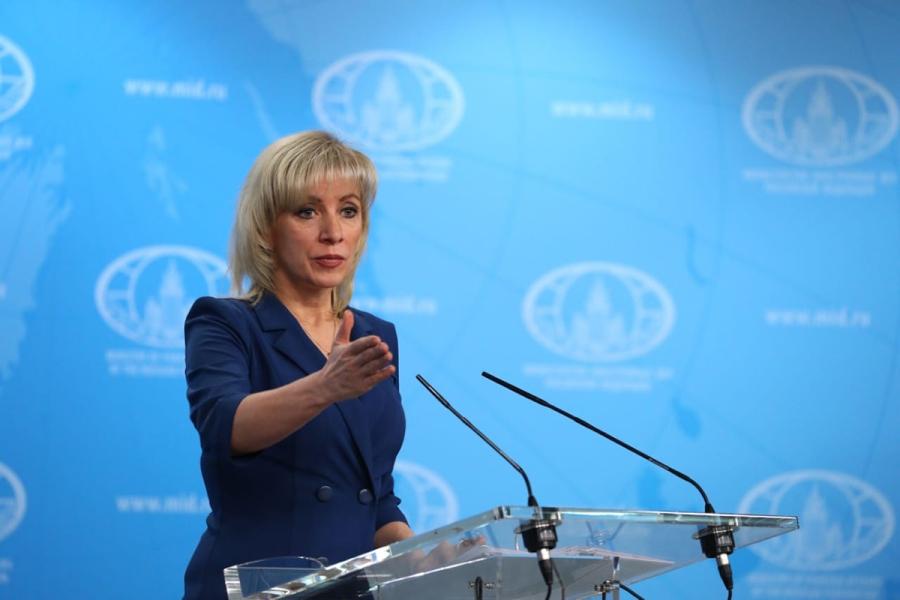 RUSSIE MARIA ZAKHAROVA brifing190123
