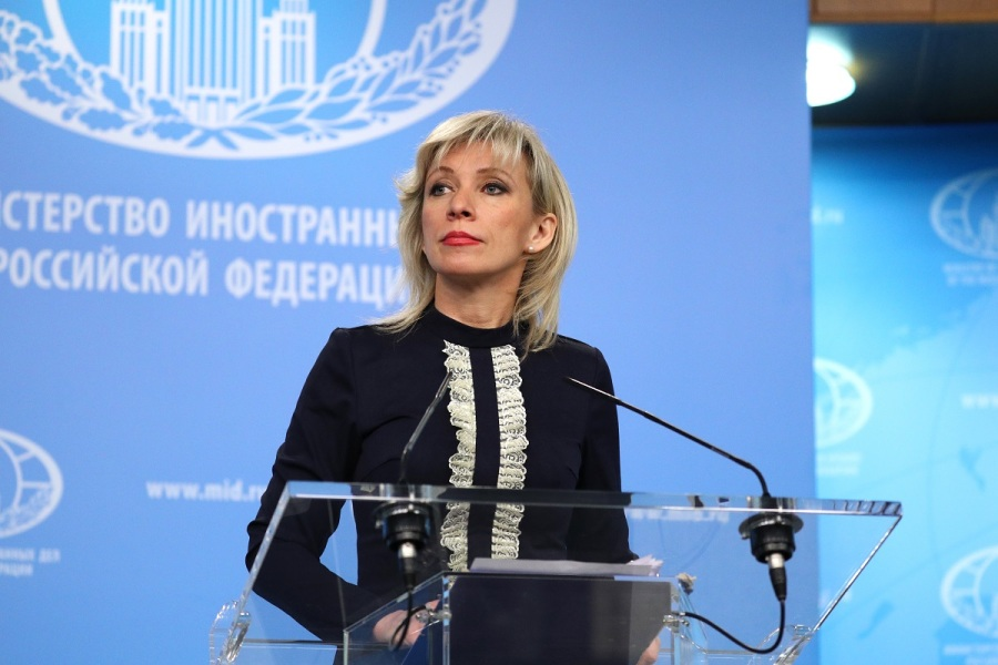 russie maria zakharova