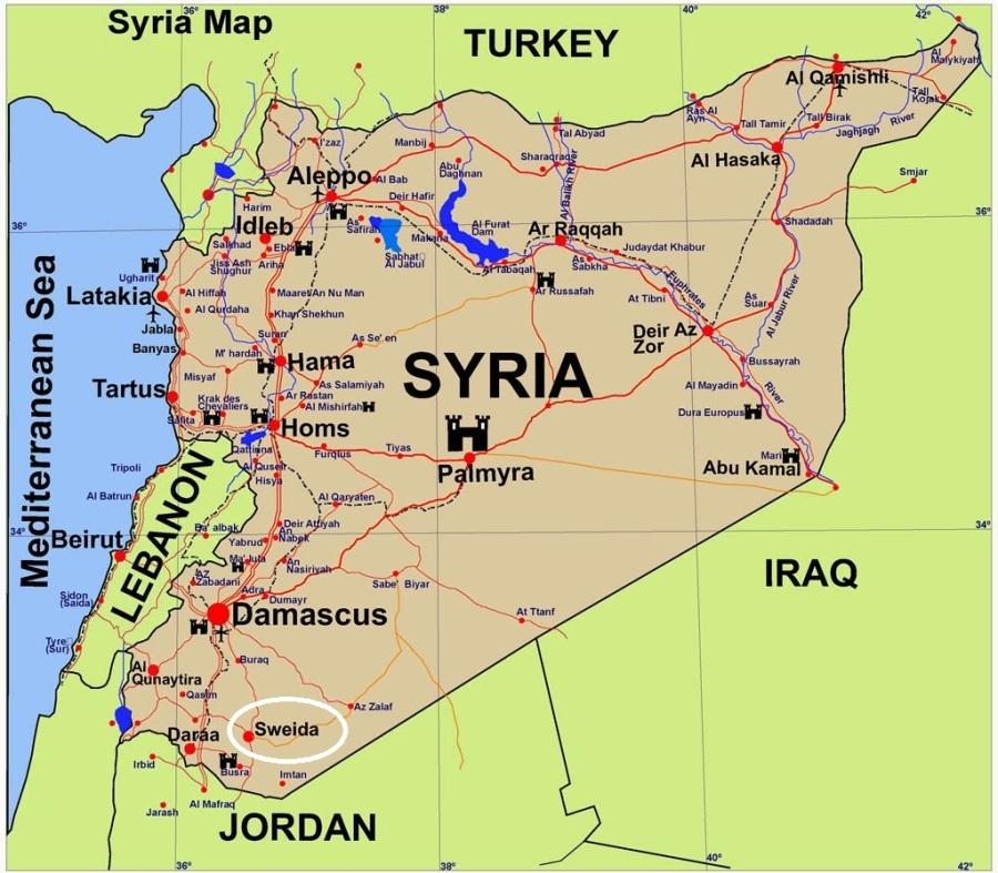 syria-guide-map-sweida