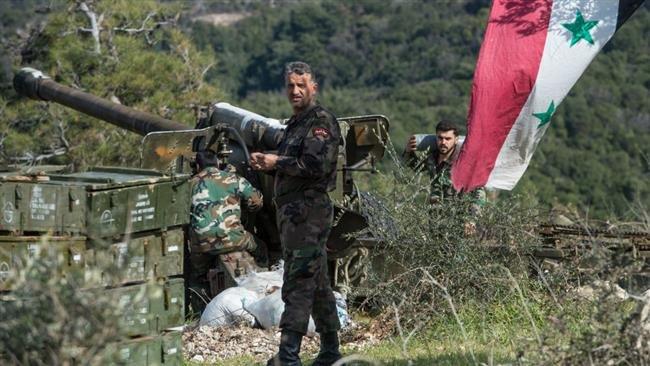 SYRIE Les forces de l'armée syrienne aux alentours d'Idlib. b2b8effc-ac92-46af-8753-a01059aaee2d