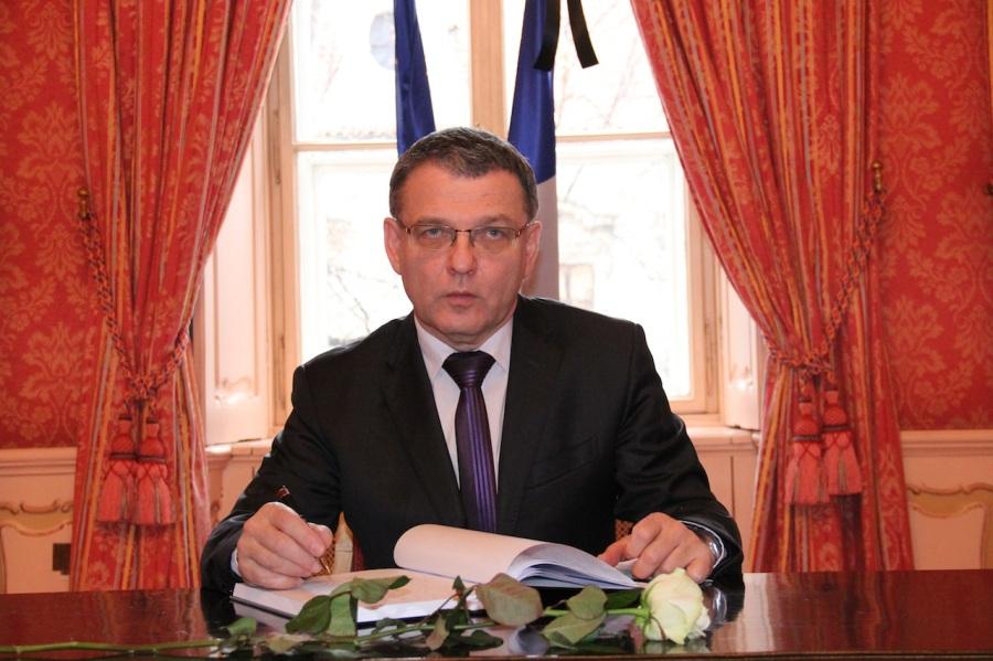 TCHEQUE Le Ministre des Affaires étrangères tchèque Monsieur Lubomír Zaorálek arton4574