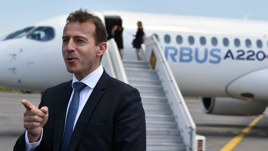 UE AIRBUS le Français Guillaume Faury image