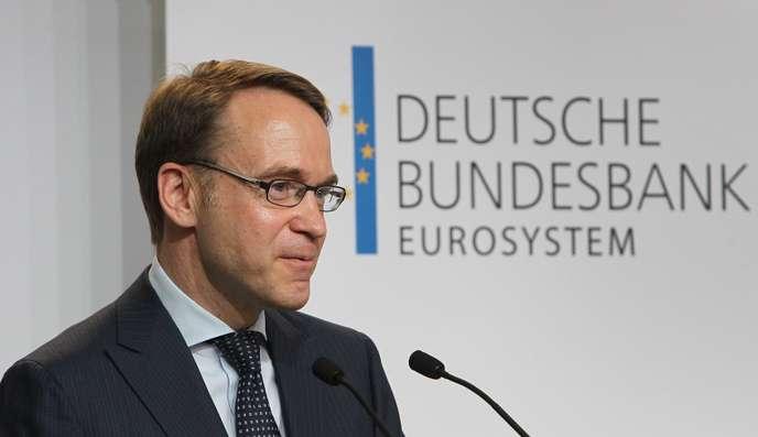 UE Jens Weidmann (Bundesbank) Si les taux remontent, les dettes ne seront plus supportables 9fe435e_13980-12otto5