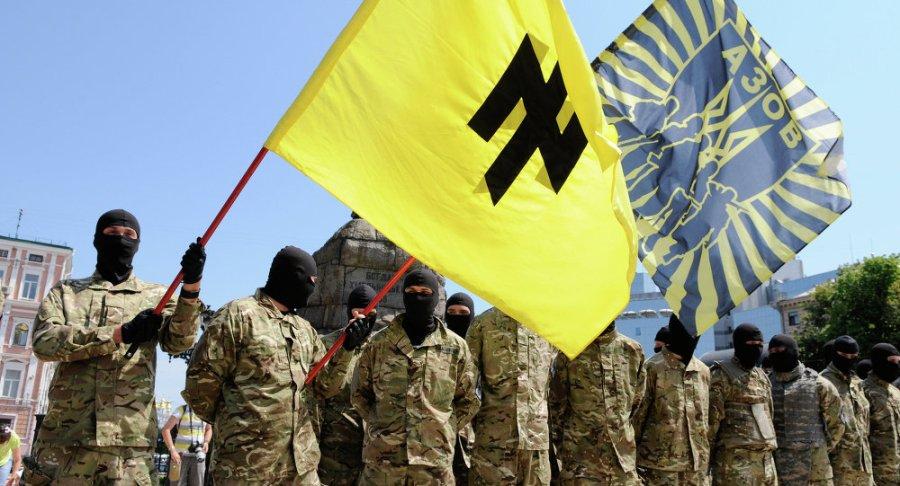 UKRAINE Azov, Donbass, Secteur droit les symboles SS revisités en Ukraine1015801183