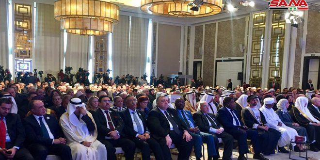 une délégation syrienne menée par Hammouda Sabbagh Assemblée