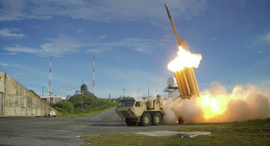 USA Des tirs d'essai de missiles THAAD 1023312916