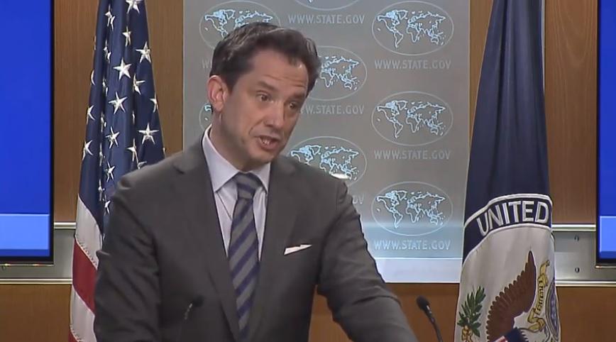 USA le porte-parole de la diplomatie américaine, Robert Palladino,USA