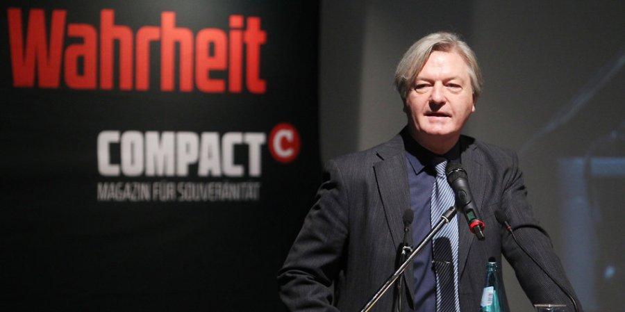 Proteste gegen Compact Konferenz