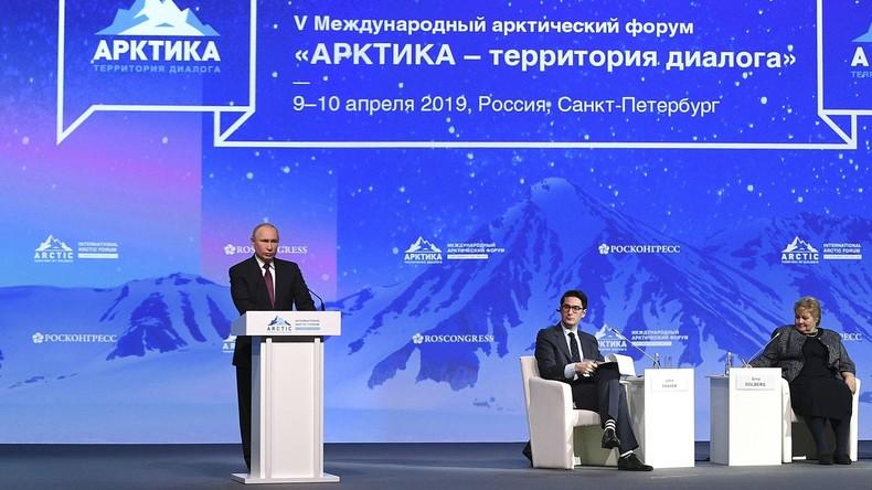 ARCTIQUE Le Forum international de l'Arctique ouvre 2019 5cacbd24488c7b28358b4568