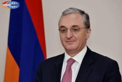 ARMENIE Zohrab Mnatsakanian, ministre arménien des Affaires étrangères971412