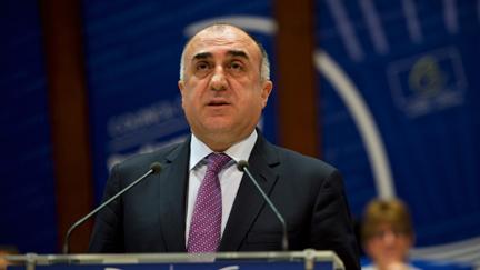 AZERBAIDJAN Elmar Mammadyarov, Ministre des Affaires étrangères de l'Azerbaïdjan