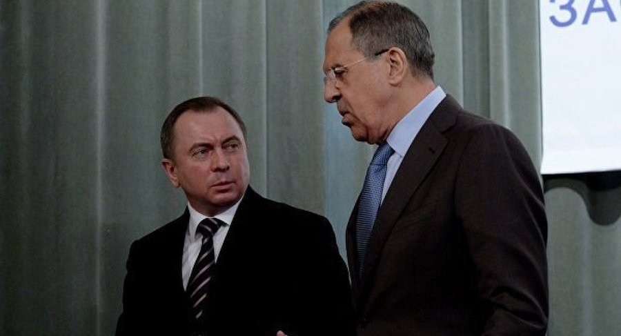 BIELORUSSIE le Ministre biélorusse des Affaires étrangères Vladimir Makeï. BEALRUS Vladimir Makeï. & SERGUEÏ LAVROV 1022779932bealrus-vladimir-makec3af-serguec3af-lavrov-1022779932