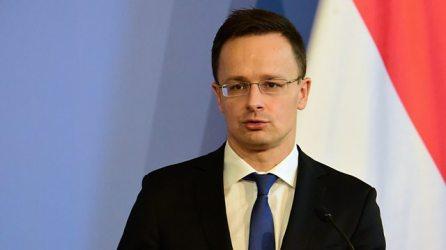 HONGRIE Minister of Foreign Affairs and Trade, Hungary - Péter Szijjártó p04cmp1s