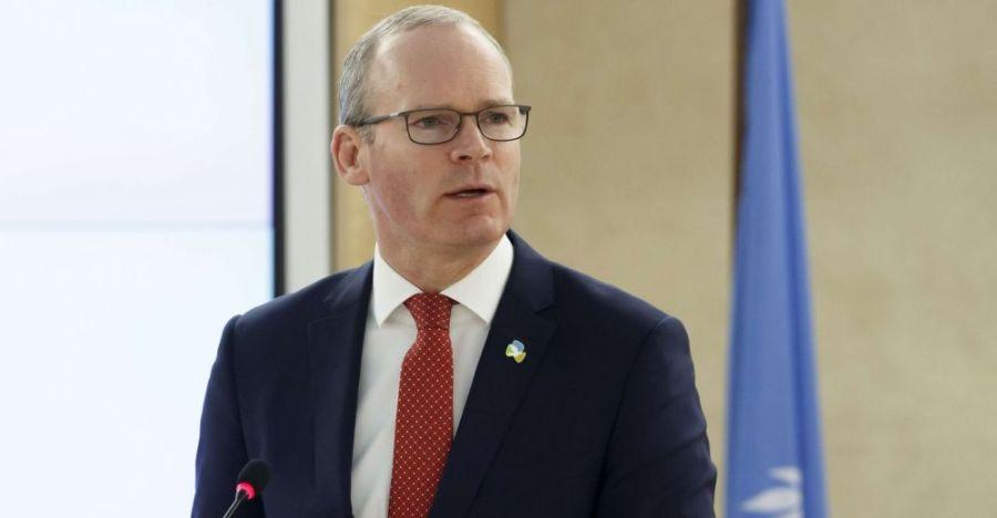 IRLANDE Simon Coveney, vice-Premier ministre et ministre irlandais des Affaires étrangèressimon_coveney_sipa_0