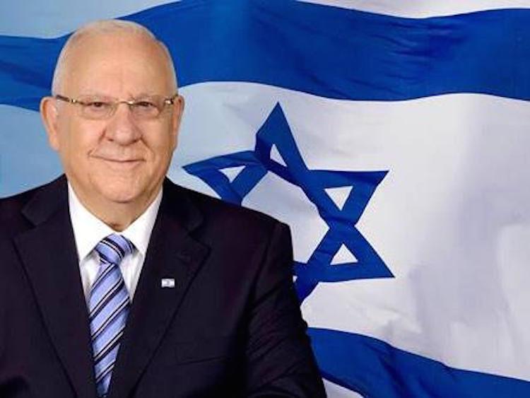 ISRAEL le Président israélien Reuven Rivlin B82ksIuIIAEx1pf