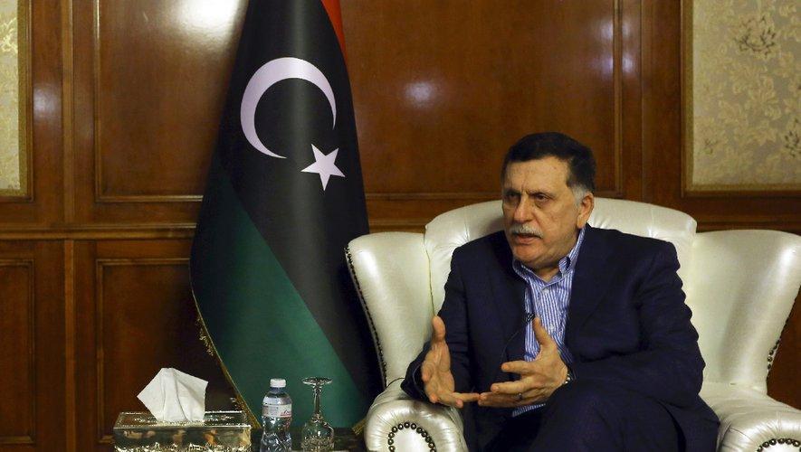 libye Fayez al-Sarraj, le Premier ministre du gouvernement libyen internationalement reconnu,image