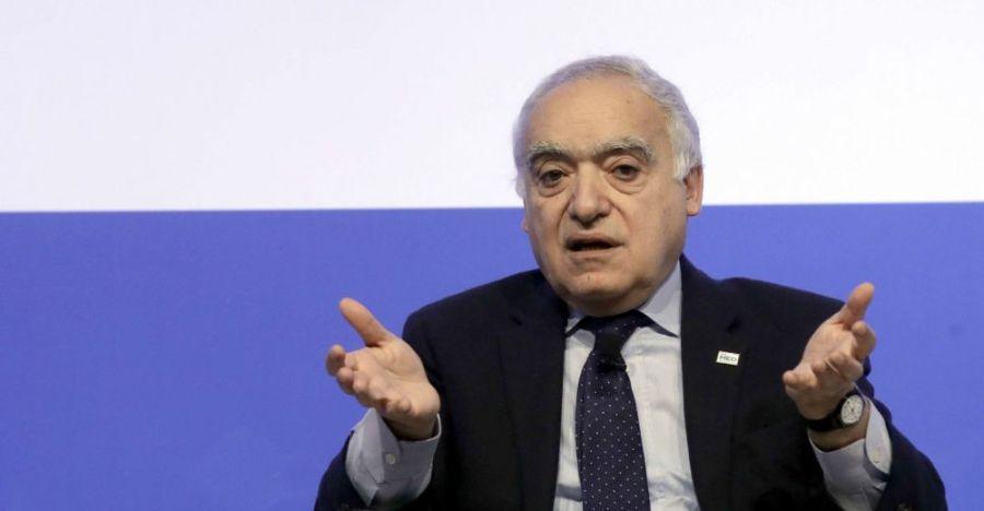 LIBYE Le Représentant spécial du Secrétaire général de l'ONU, Chef de la Mission d'Appui des Nations unies en Libye, Ghassan Salaméghassan_salame_sipa