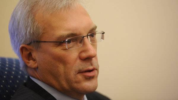 RUSSIE Alexandre Grouchko, vice-Ministre russe des Affaires étrangères4977195-7431583