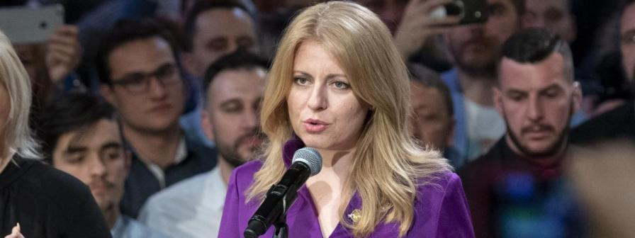 slovaquie L'avocate Zuzana Caputova17305367