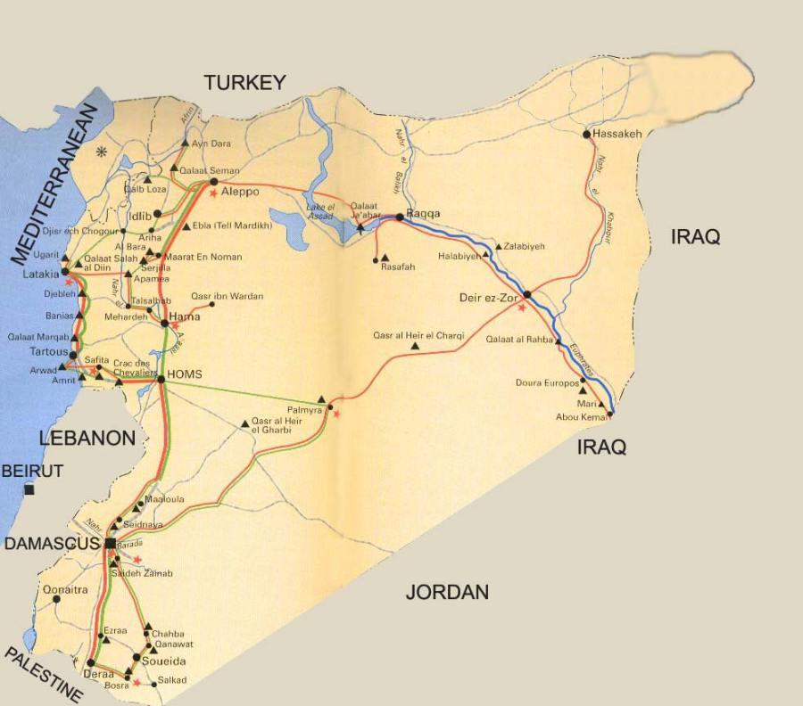 SYRIE carte_syrie