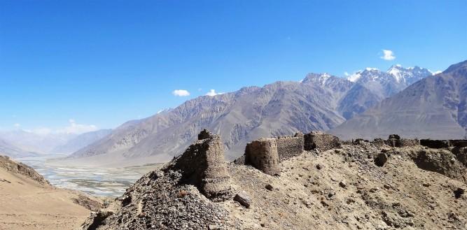 Tadjikistan Citadelle-de-Yamchun