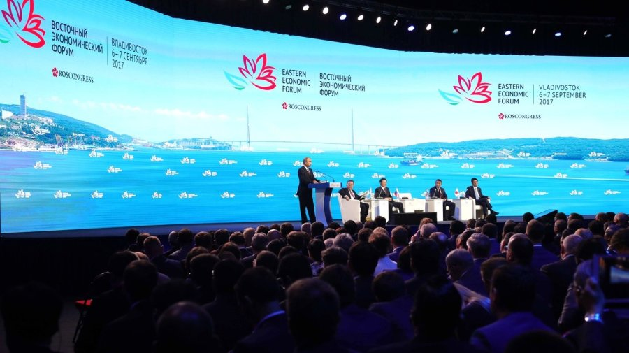 Vladimir Putin took part in a plenary session of the Eastern Economic Forum in Vladivostok. 9jvLArEuNzwbY7bbtsjL2BDoPQdKQm71