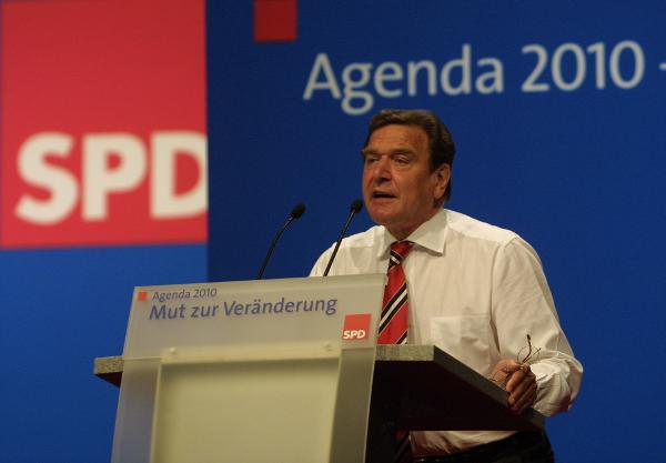 Bundeskanzler Gerhard SCHROEDER