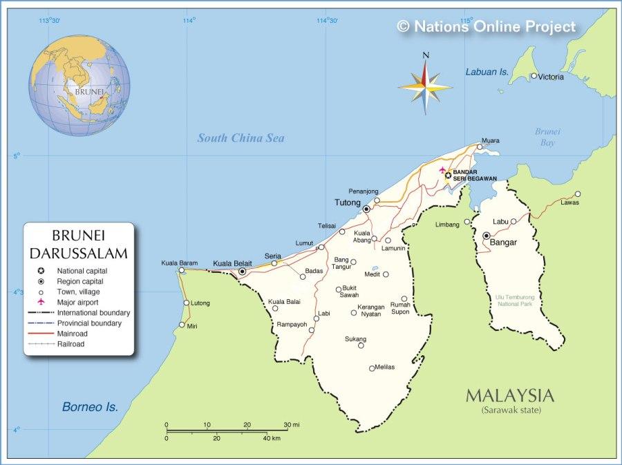 brunei-map