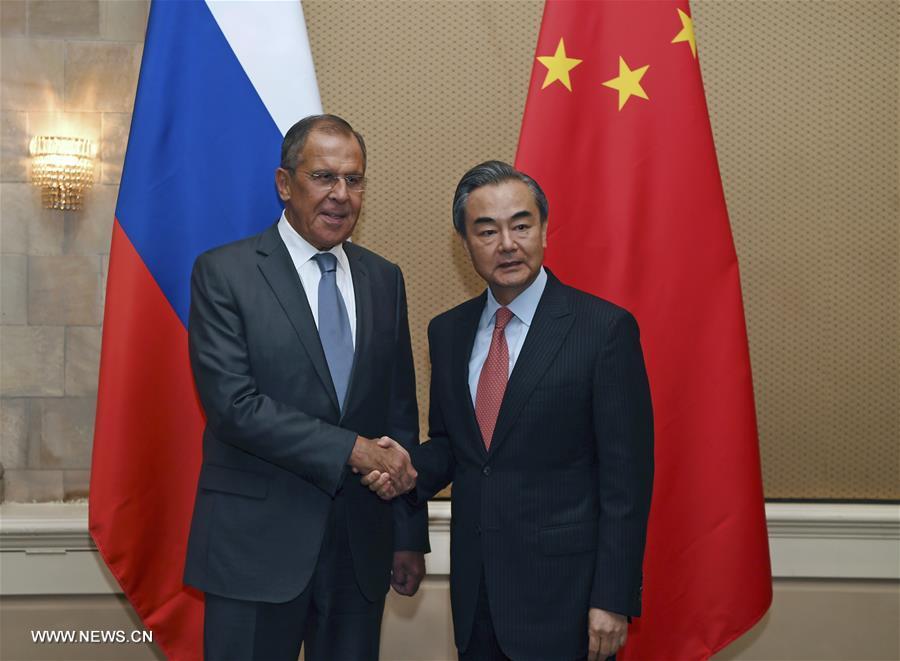 CHINE RUSSIE la visite en Russie de Wang Yi, 137228729_15281221801581n