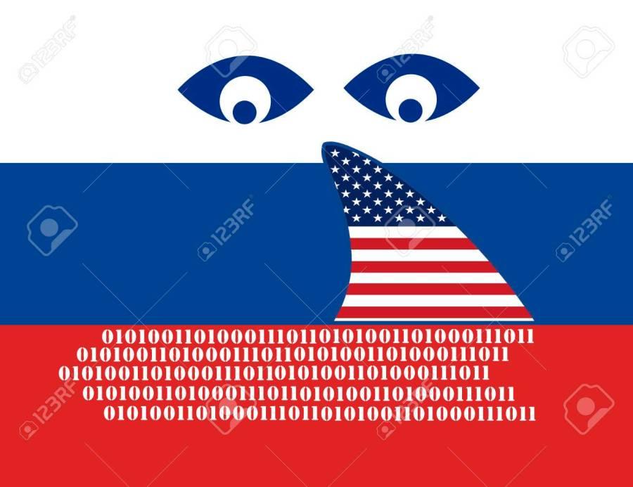 USA spying on Russia