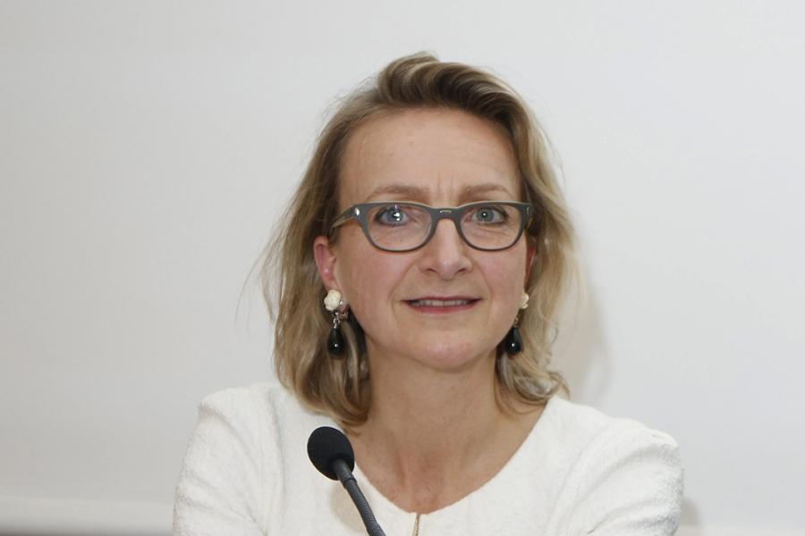 Christine de Mazières et Vincent Montagne