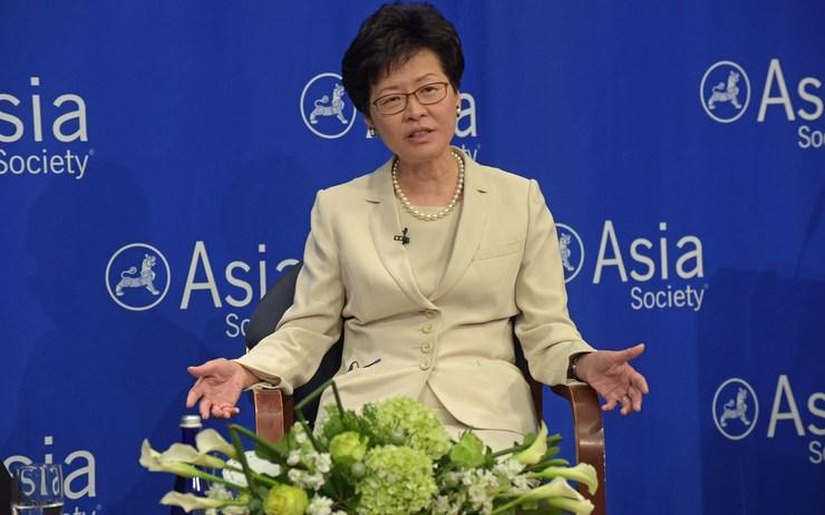 HONG KONG Carrie Lam chef de exécutif de hong kongbilan-lam