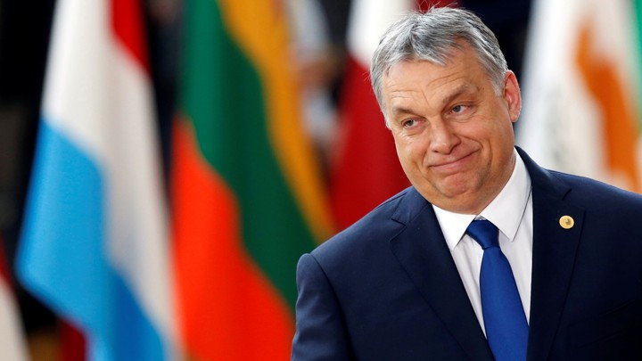 FILE PHOTO: Hungarian Prime Minister Viktor Orban arrives at the EU summit in Brussels