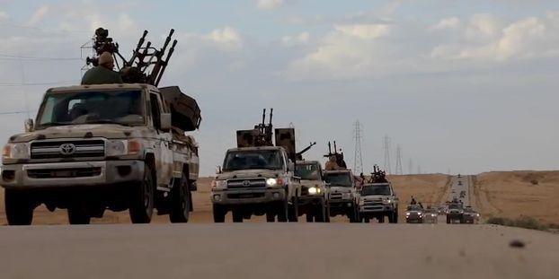 LIBYE Raid-aerien-contre-offensive-l-escalade-se-poursuit-en-Libye
