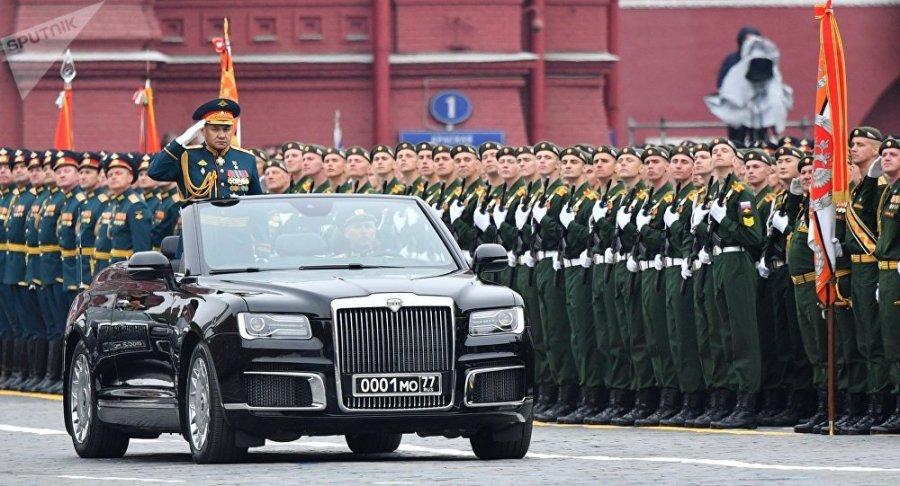 RUSSIE Défilé militaire sur la place Rouge à Moscou pour fêter les 74 ans de la Victoire 1041039139