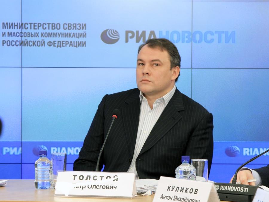 RUSSIE Pyotr_Olegovich_Tolstoy_at_the_2012_Safe_Internet_Forum