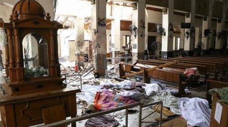 sri lanka 15abf6af-498e-4a37-92f8-3f6502973fe3Une photo de l'église Saint-Anthony, dans la capitale Colombo,