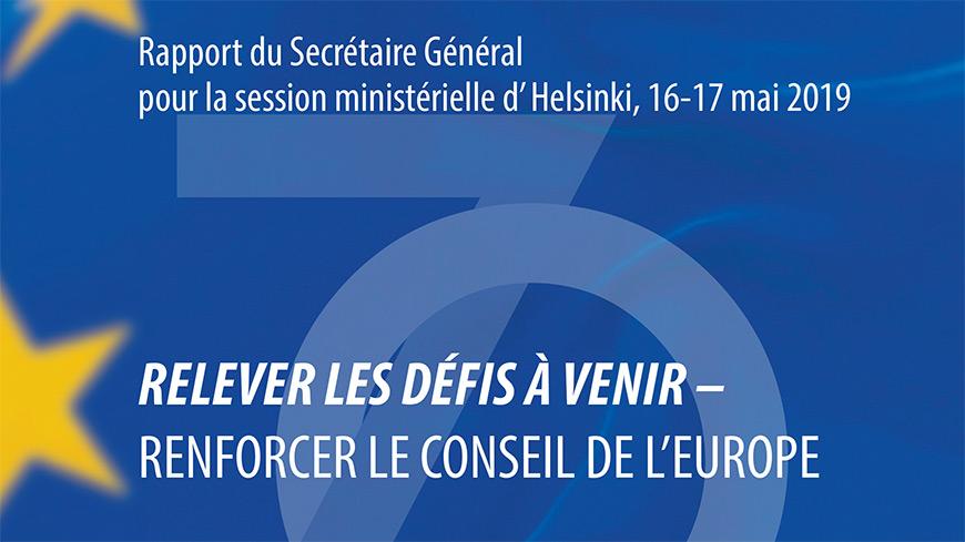 UE Rapport du Secrétaire Général pour la session ministérielle d' Helsinki, 16-17 mai 2019SG-Rapport-2019_fr