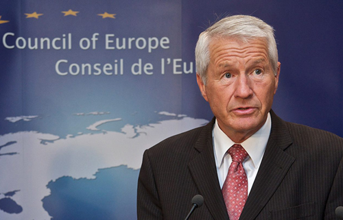 ue The Secretary General of the Council of Europe, Thorbjorn Jagland Thorbjorn-Jagland-1