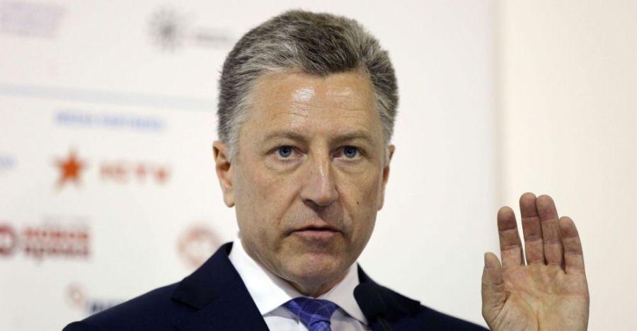 USA UKRAINE Kurt Volker, l'envoyé spécial des Etats-Unis en Ukraine. kurt_volker_sipa