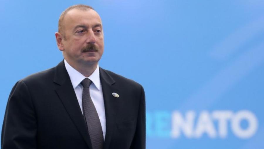 azerbaidjan Le Président azerbaïdjanais Ilham Aliev 000_17j14r_0