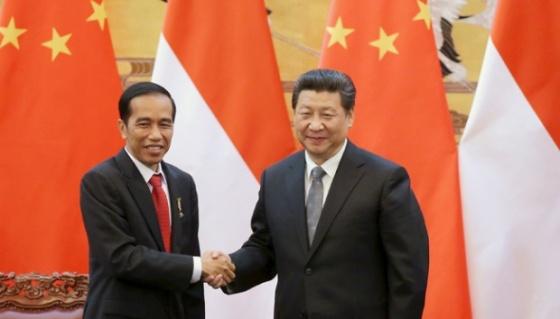 CHINE Xi Jinping et Joko Widodo 383677_620