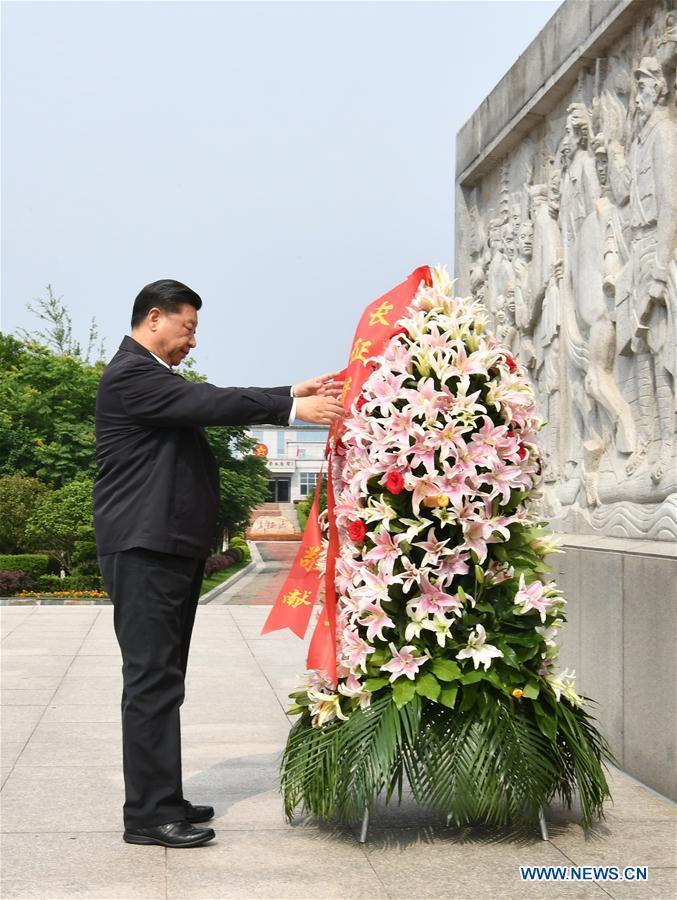 chine Yudu dans le Jiangxi le mémorial de la longue marche & Xi Jinping 138074832_15583617383761n