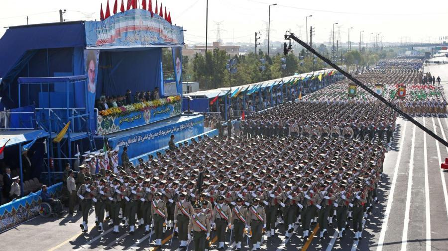 IRAN Corps des gardes de la révolution iranien (IRGC).10784169