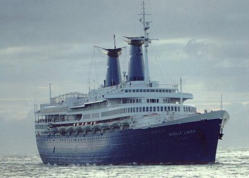 MER détournement du navire à passagers Achille Lauro 1985 41187