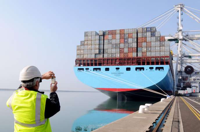 FILES-DENMARK-BUSINESS-SHIPPING-MAERSK