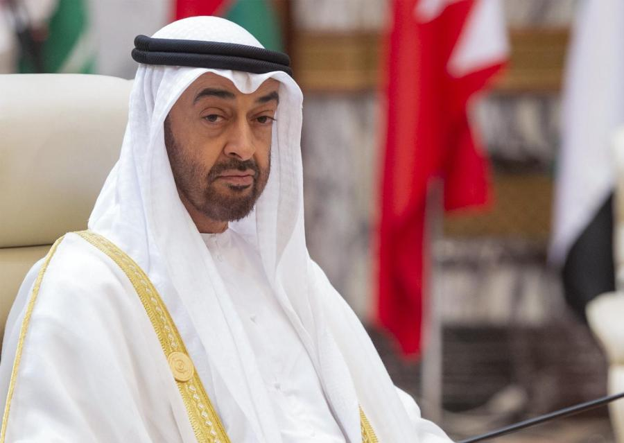 MOYEN ORIENT Mohammed bin Zayed, crown prince of Abu Dhabi, at an Arab summit in Mecca (AFP) 000_1h3323