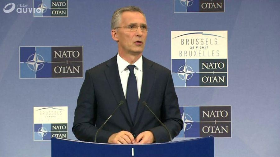 OTAN Ce 4 juin, le Secrétaire général de l'Otan Jens Stoltenbergce18b1eadcb1b97289e3bd2a0fe8890d